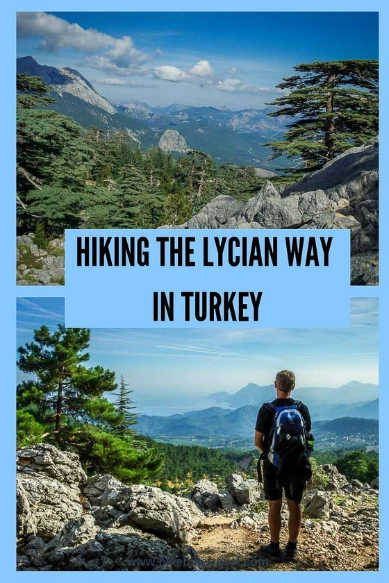 Hiking The Lycian Way In Turkey With Images Hiking Trip Bike