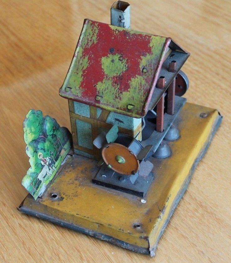 ancien moulin a eau pour machine a vapeur germany (fleischmann bing marklin ? ) | eBay