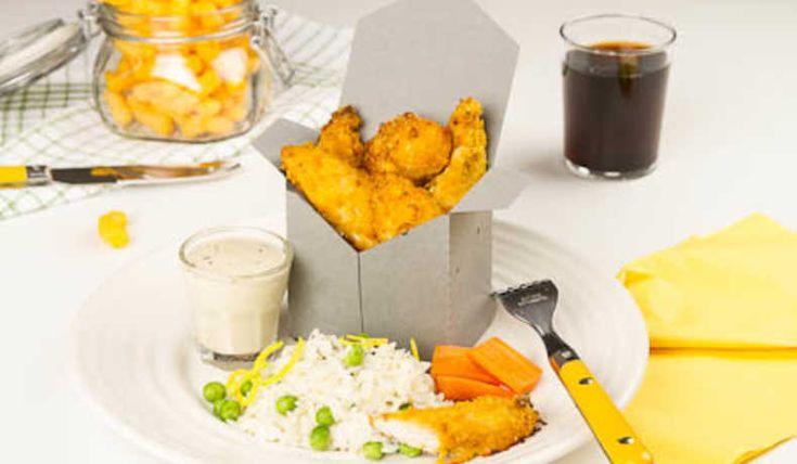 Kyckling med cheese doodles - Recept