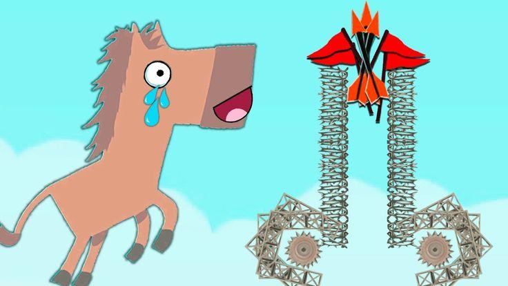 САМЫЕ СМЕШНЫЕ УРОВНИ! (Ultimate Chicken Horse Смешные Моменты) #5