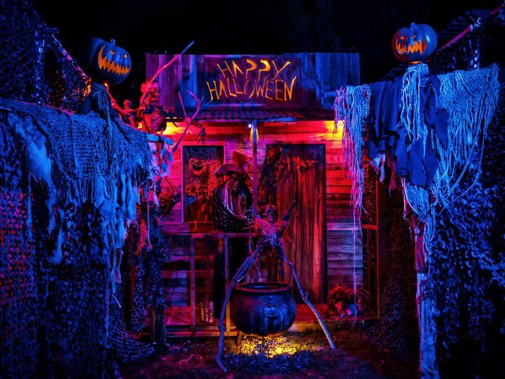 New Halloween outside or outdoor lighting ideas