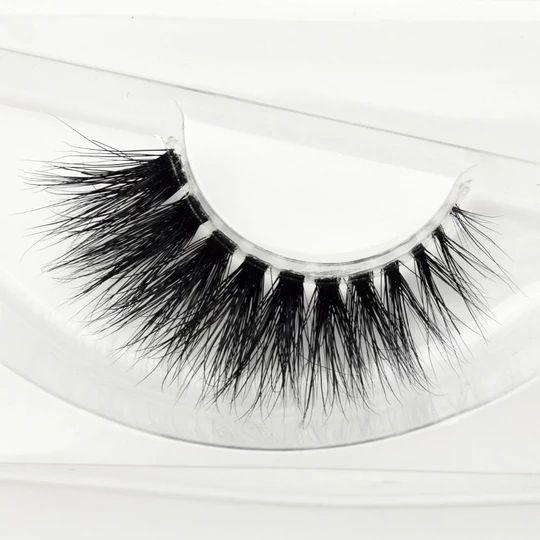 Visofree Mink Lashes 3D Mink Eyelashes Invisible Band Natural Black Mi – eefury