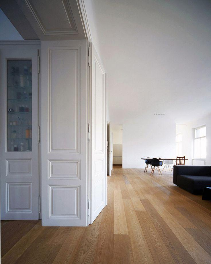Classic passage in a clean interior