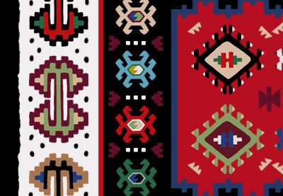 Pirot kilims are made with some of the most beautiful traditional Serbian design motifs. Learn how to create these designs in Adobe Photoshop with this free tutorial.
