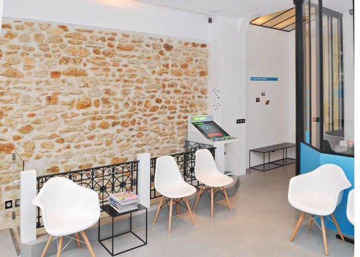 La salle d'attente - docteur olivier guedj chirurgien-dentiste - orthodontie paris Nation 12ème