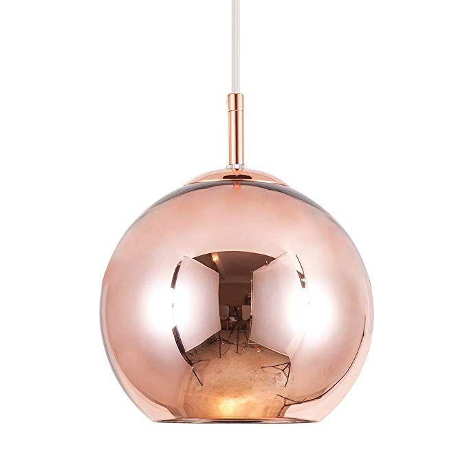 Amazon Com Mzithern Modern Mini Globe Pendant Lighting With
