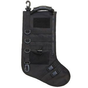 Tactical Christmas Stocking with MOLLE Attachment gift hunters men dad present