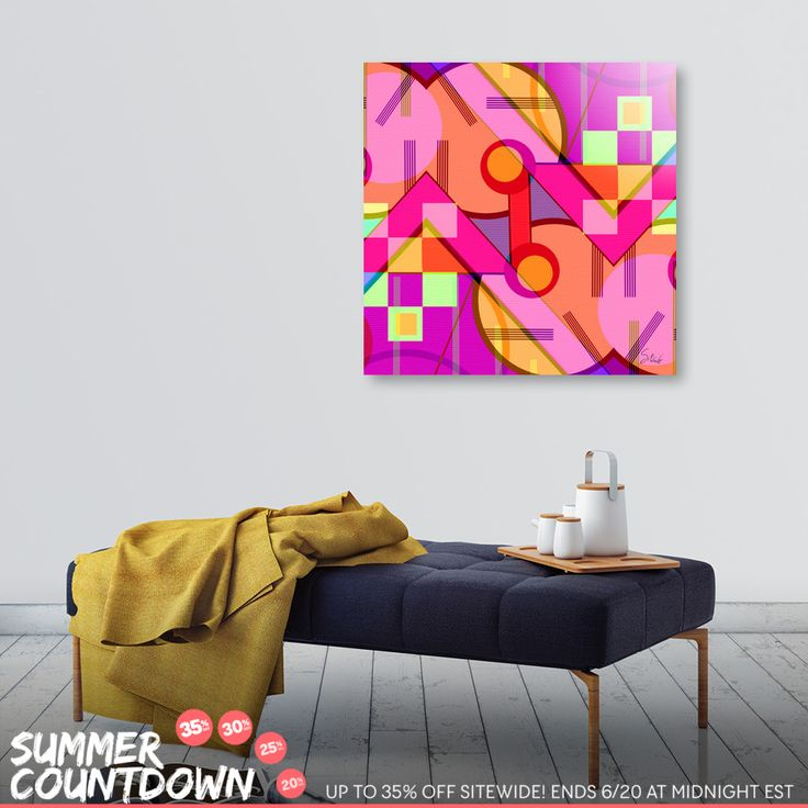 Discover «Up and down», Numbered Edition Aluminum Print by Silvia Ganora - From 55€ - Curioos Grab your shades, then get up to 35% OFF my art during the Summer Countdown! > https://www.curioos.com/silviaganora/promo #promo #countdown #wallart #homedecor #curioos #interior #contemporary #modern #prints #artprints #canvasprints #diskprints #summerdesign