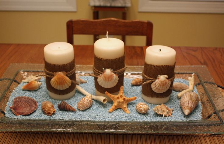 for Candle centerpieces for dining room table