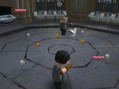 Lego Harry Potter: Years 5-7 - Warner Bros. Excellently created role-playing adventure game. Unlock characters, gain and cast spells, mix potions, collect money, duel, gather magical items...have fun in this 3D game that makes you feel as if you are right there in the action and adventure.