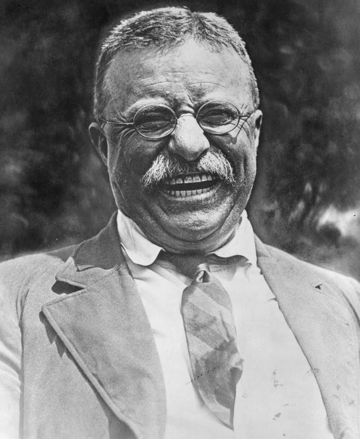 Theodore Roosevelt became President in 1901 after McKinley's assassination and then was elected in 1904. His progressive policies helped level the playing field for the working man and he was an original advocate for universal healthcare.   Our 26th President was a forceful leader not only of our Nation, but of this hemisphere.
