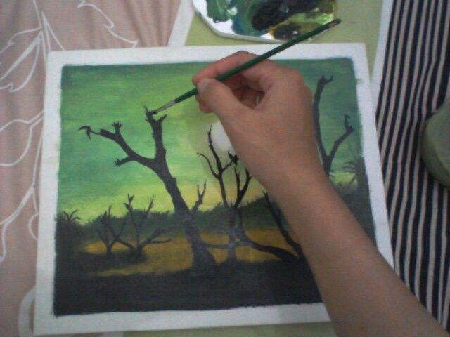 Lukisan tangan
