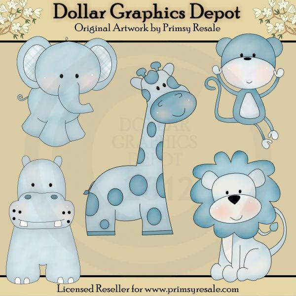 Boy Jungle Babies - Clip Art - $1.00 : Dollar Graphics Depot, Quality Graphics ~ Discount Prices