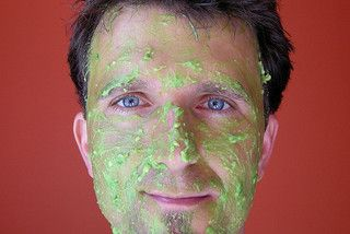 avocado facial mask.