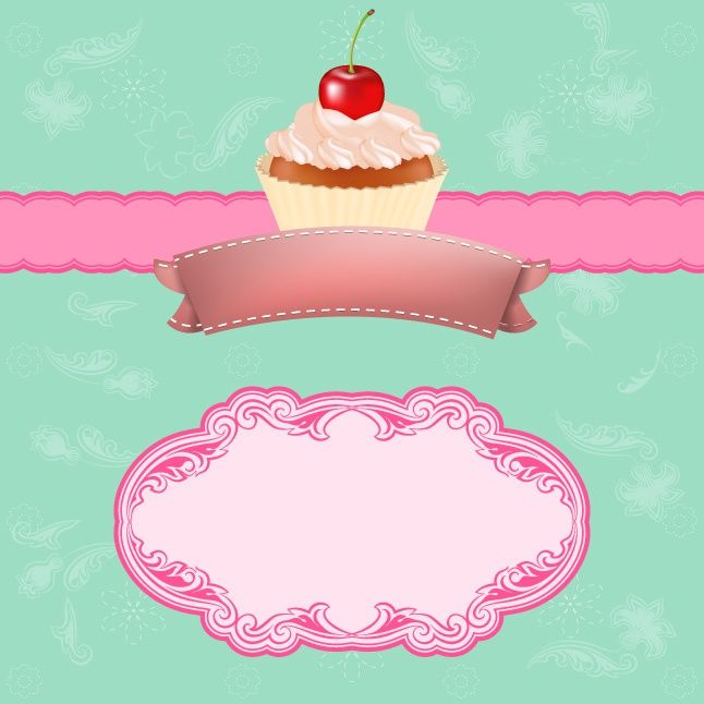 vintage cupcake wallpaper - photo #14