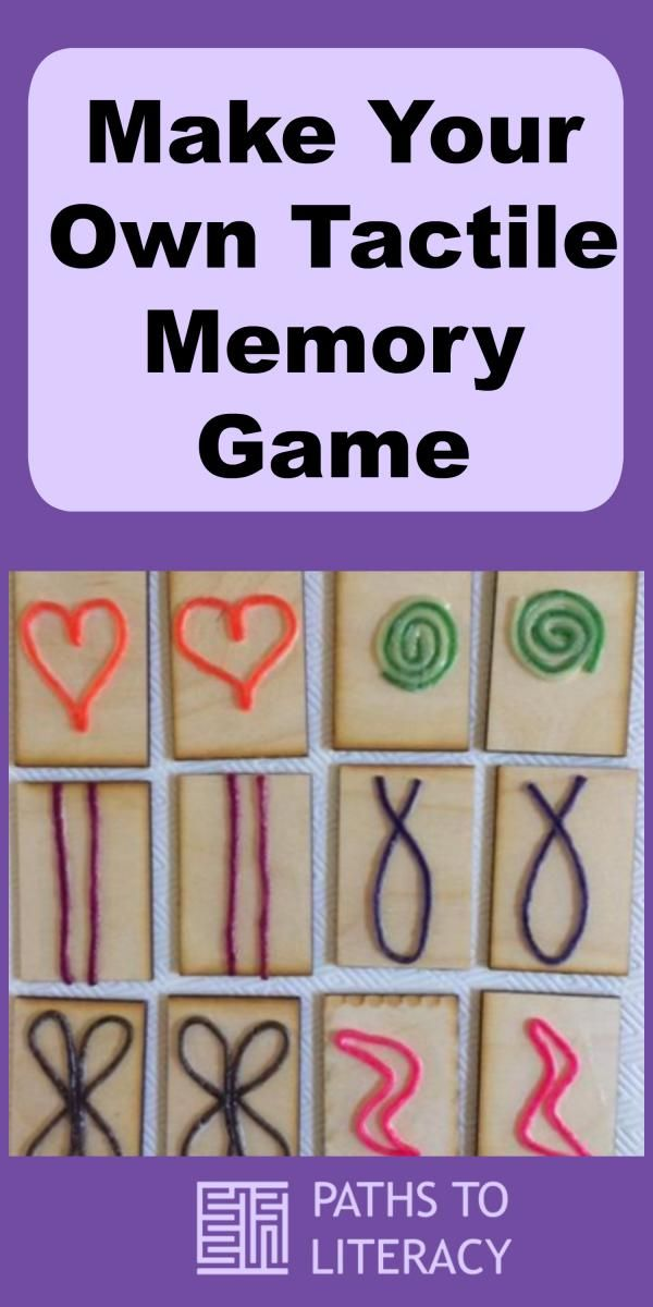 Make Your Own Tactile Memory Game Tactile Activities Tactile Learning Braille Activities