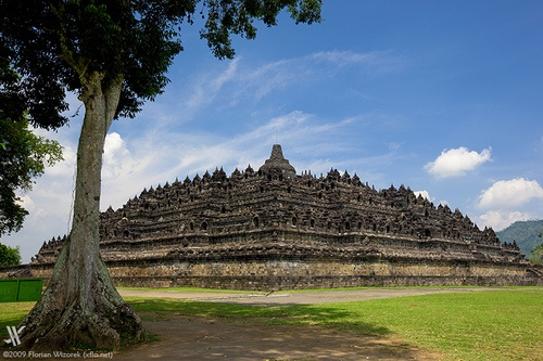 Borobudur temple, central java - Indonesia
