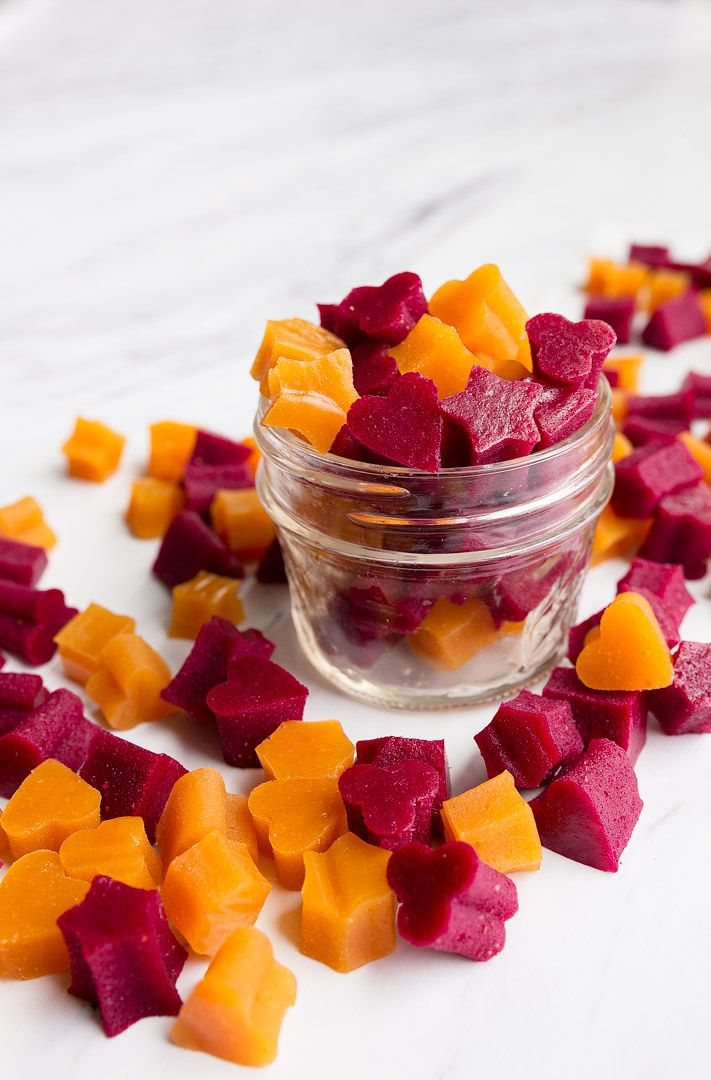Healthy Homemade Fruit Snacks With Veggies Mango Carrot Fruit