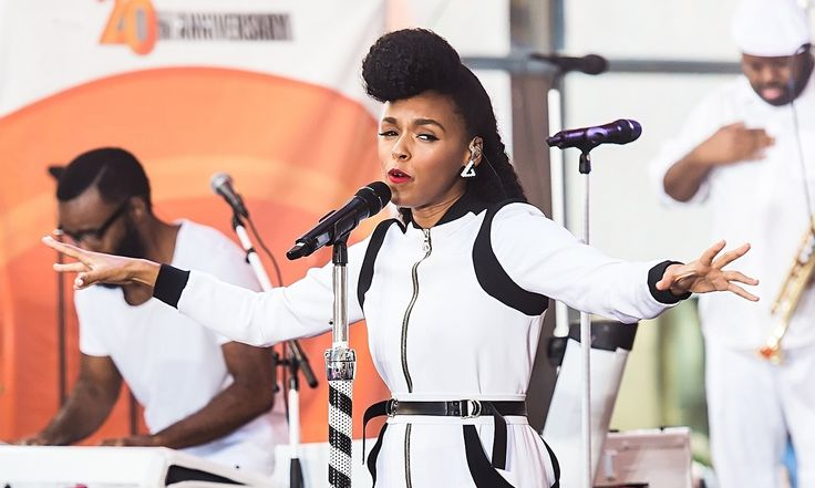 Janelle Mona at NBC Today Show