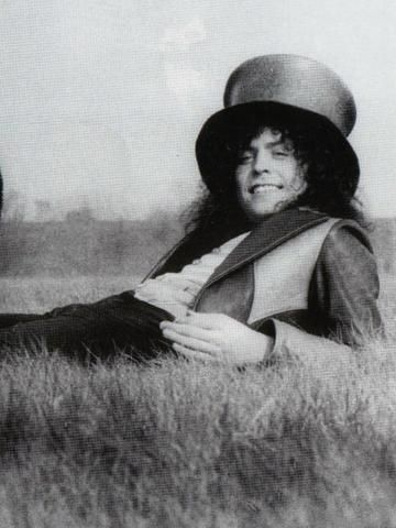 "Marc Bolan filming ""Born to Boogie"" (1972)"