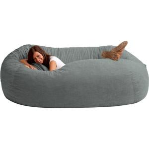 XXL Comfort Suede Bean Bag Sofa