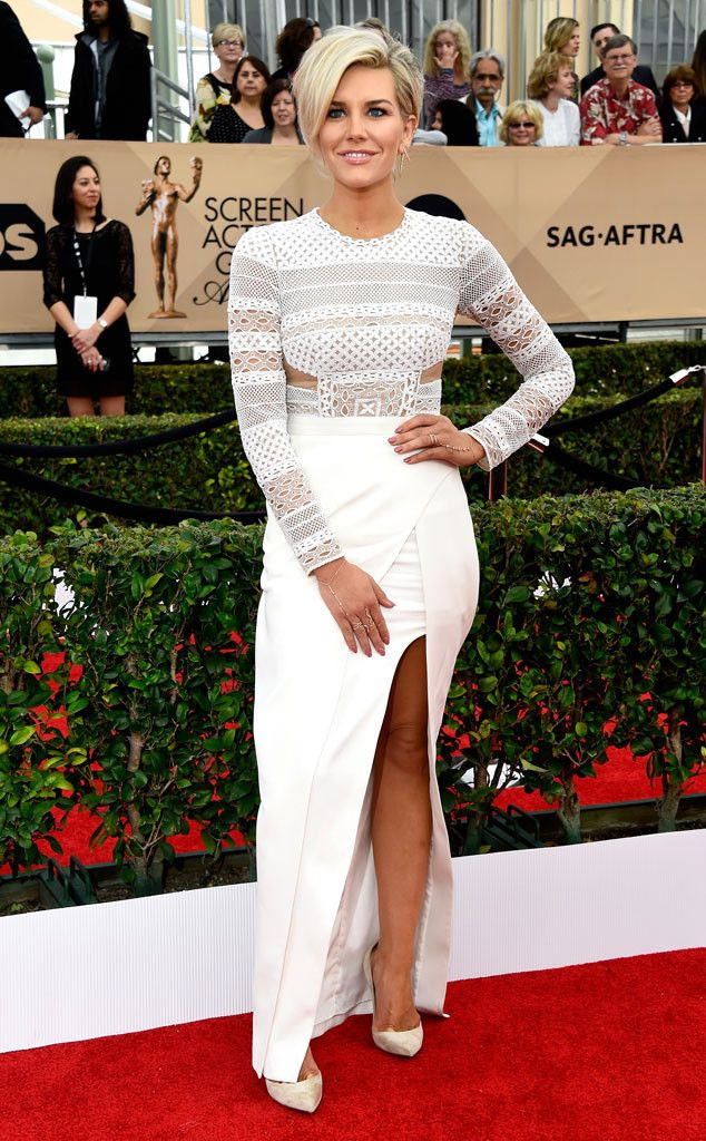 Charissa Thompson from SAG Awards 2016: Red Carpet Arrivals