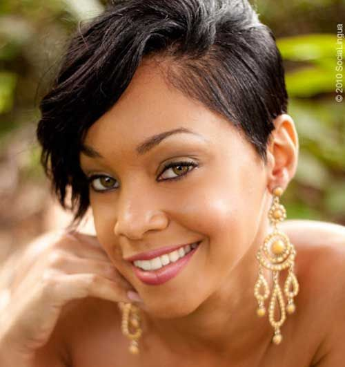 Superb 1000 Images About Short Hair Styles For Black Women On Pinterest Hairstyles For Women Draintrainus