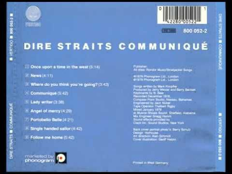 Dire Straits - Communiqué - (album completo) - YouTube