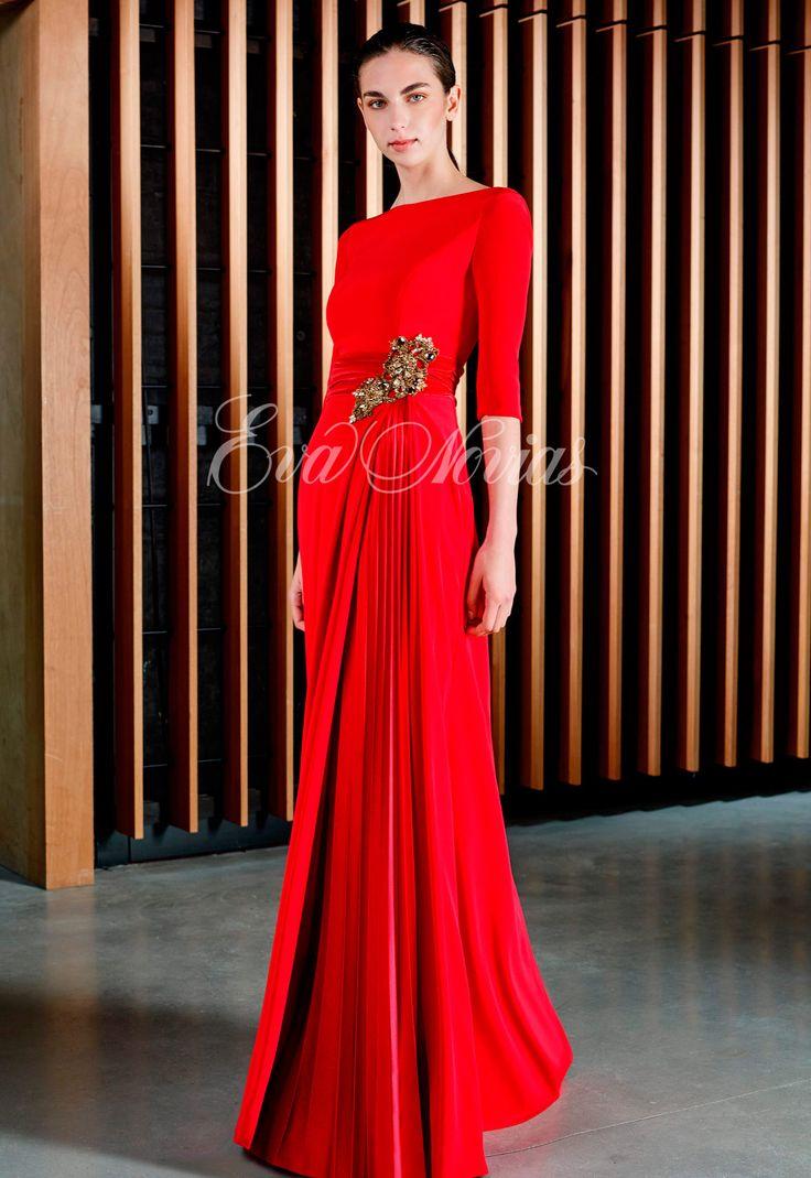 Vestidos de fiesta y madrina de la firma Patricia Avendaño colección 2017 Modelo 3063 en exclusiva en Madrid para Eva Novias calle Goya, 84 Tel: 914359458