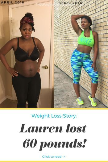 Weight Loss Success Story: Lauren Shed 60 Pounds From Her Overweight Pregnancy