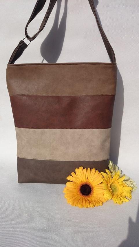 Textilbőr táska, Táska, Mindenmás, Ruha, divat, cipő, Válltáska, oldaltáska, Meska