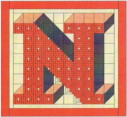 Alphabet Quilting Pattern : quilt block pattern alphabet letters Quilt Pattern Ideas quilting patterns Pinterest ...