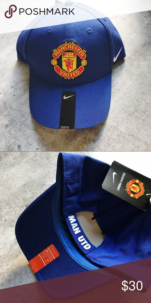 Nike Manchester United Legacy 91 Hat •Blue Legacy 91 Manchester United hat. Unisex fit.  •New with tag  •No trades, no holds Nike Accessories Hats
