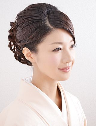 和装にぴったりな華やぎある上品なヘアスタイル♡和装の時に真似したいアレンジ・髪型・カット♬