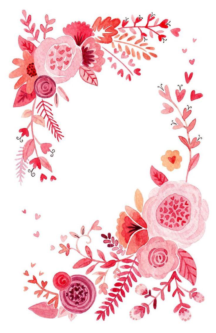 Valentine-foral.jpg 800×1,236 pixeles