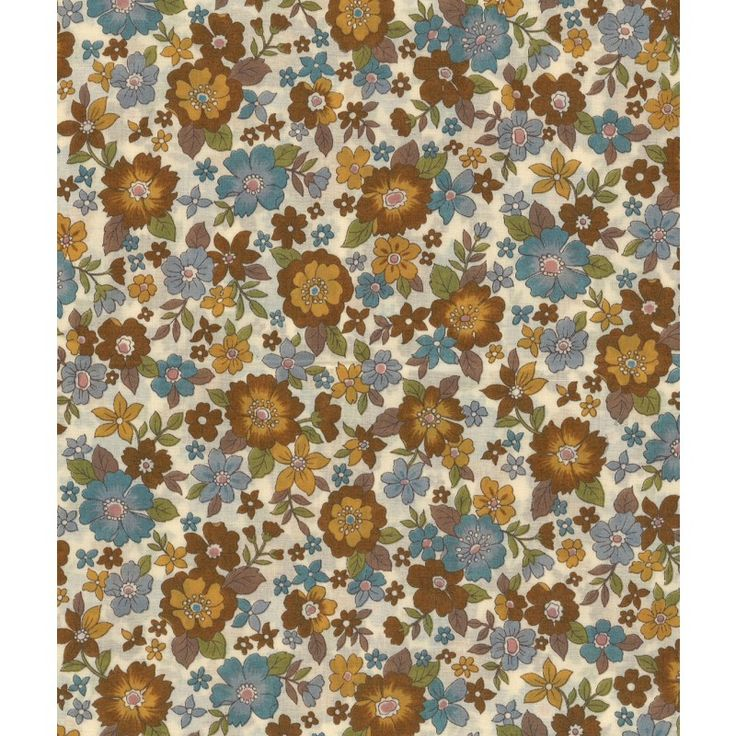 Tissu  Frou-Frou Fleuri Poussière d'or idéal pour vos créations couture. Il peut se prêter au jeu du mix and match notamment avec les motifs de la collection Etoile/Pois/Vichy, ou s'associer avec les tissus unis coordonnés.
