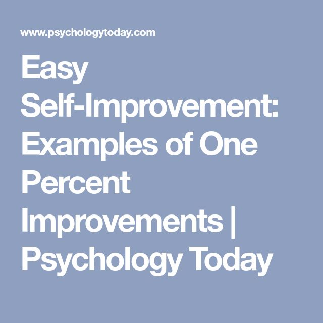 the benefits of self improvement psychology essay Self-awareness (sometimes also referred to as self-knowledge or introspection) is about understanding your own needs, desires, failings, habits, and everything else that makes you tick.
