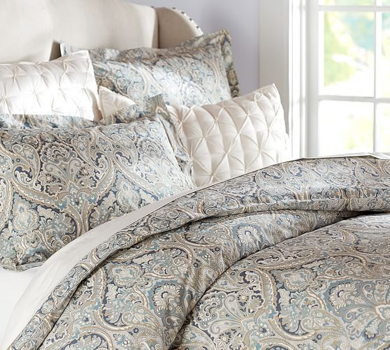 McKenna paisley duvet from Pottery Barn