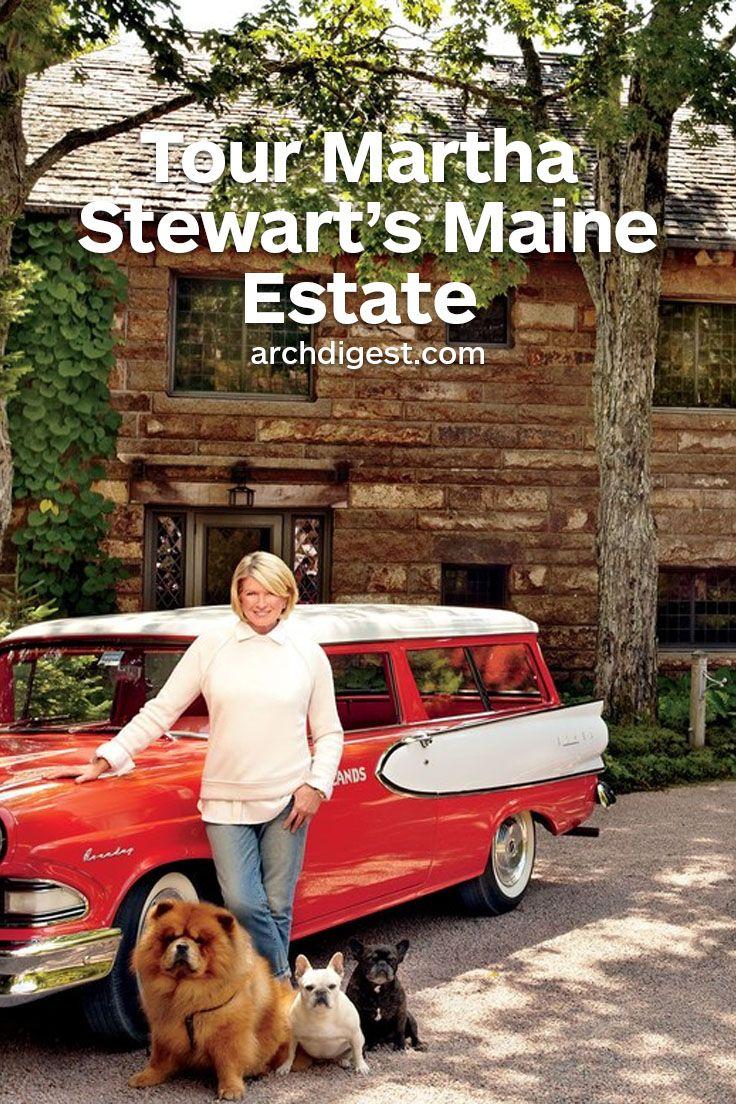 Martha s stewart s traditional maine estate