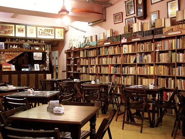 Cafe Literario, Buenos Aires | by lorena pajares | via earthalbum