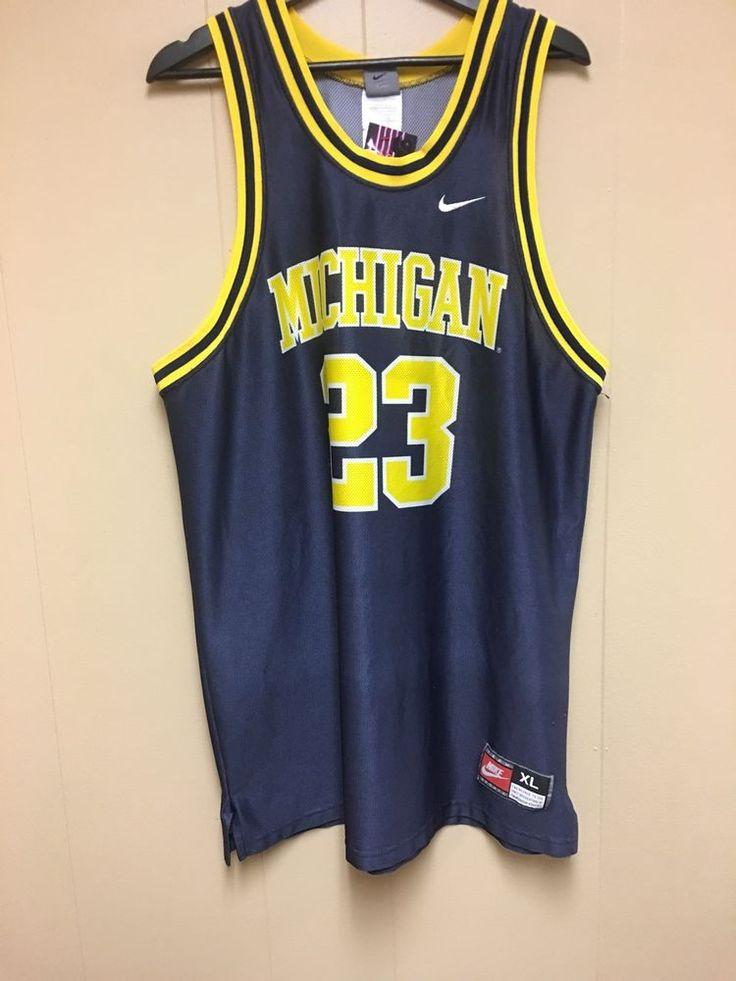 Nike University Of Michigan Basketball Maurice Taylor Jersey     eBay