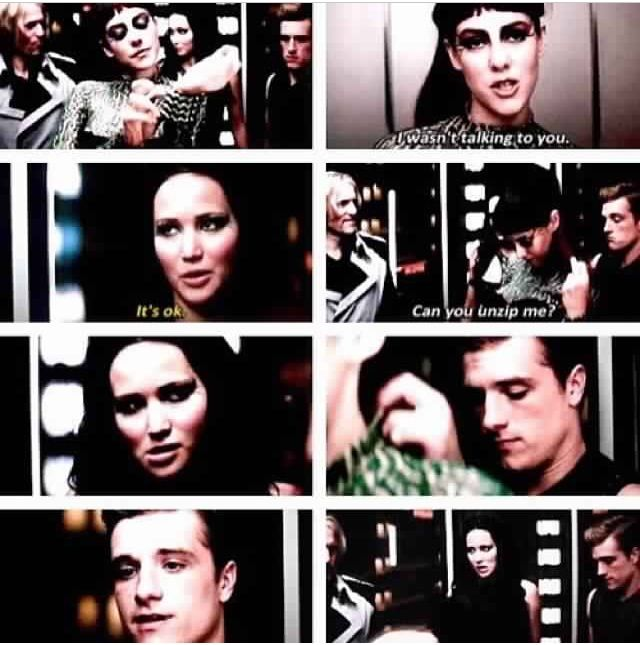 Catching Fire Elevator Scene Johanna Mason everyone | All ...