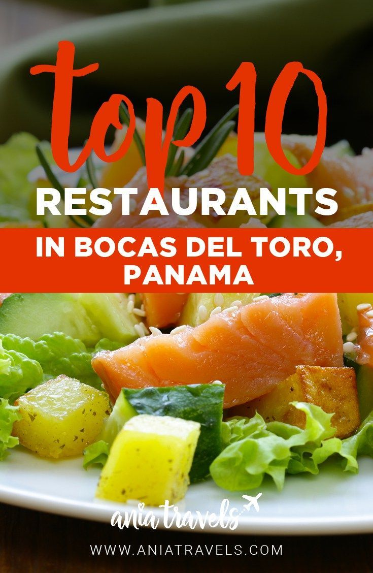 Being a huge foodie and living on an island I had to check out the best restaurants. So let's take a look at the top restaurants in Bocas Del Toro, Panama. | Central America | Food | Foodie | Pescatarian | Vegan | Veggie | Best Food in Bocas | Best Restaurants in Bocas