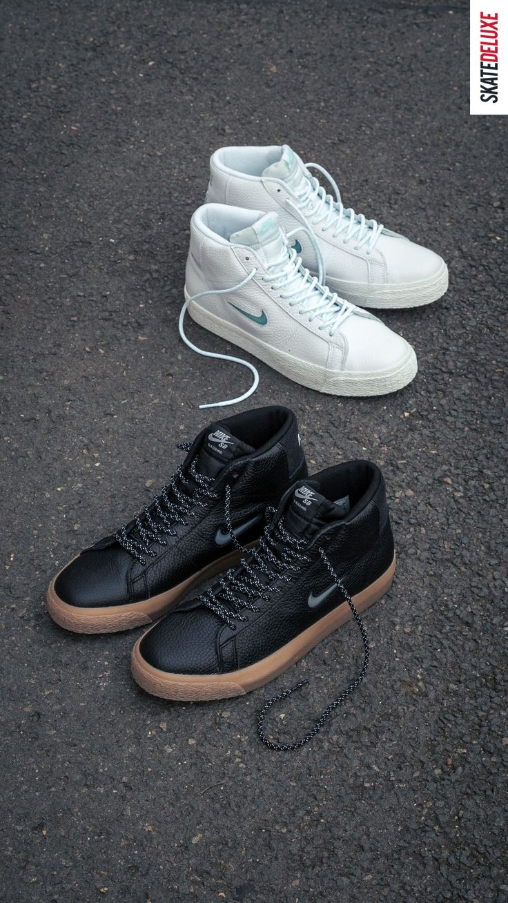 Get the Nike SB Blazer Mid models in the Pacific North