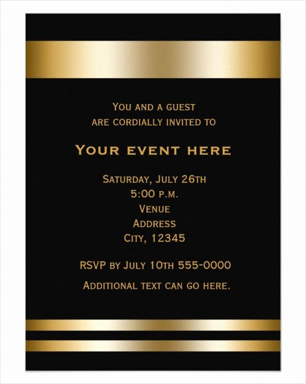 Business Dinner Invitation Template from i.pinimg.com