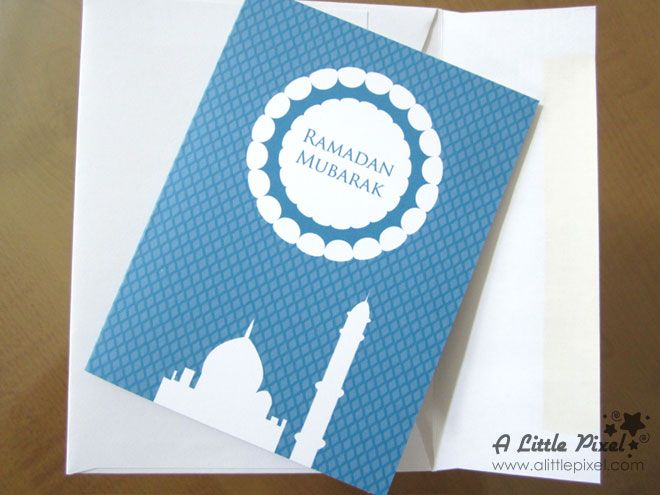 Ramadan 2013 Free Printable Cards — A Little Pixel