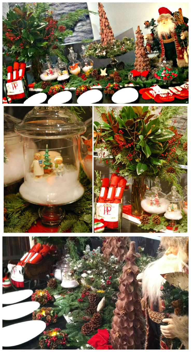 28 Best Christmas Buffet Table Decorations Silver