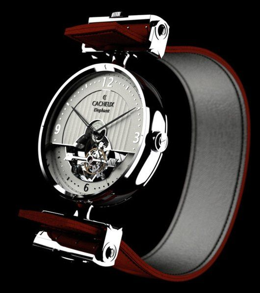 Cacheux Elephant Automatic...pinning to men's fashion, but I want this for myself!