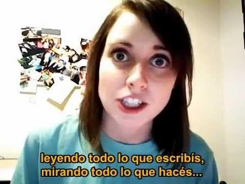 La Novia Psicopata video subtitulado español (la chica del meme)