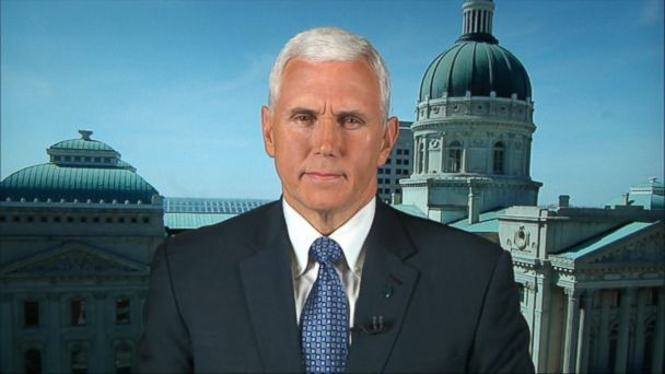 Indiana Gov. Mike Pence Says Controversial 'Religious Freedom' Law Won't Change - ABC News